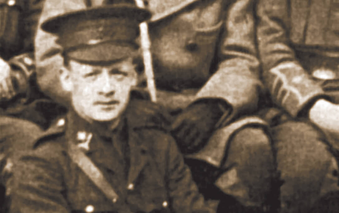 Three times a hero on the Western Front