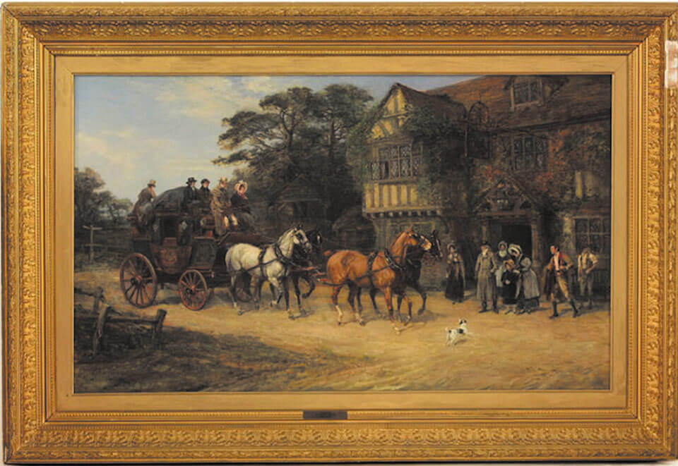 the arrival painting