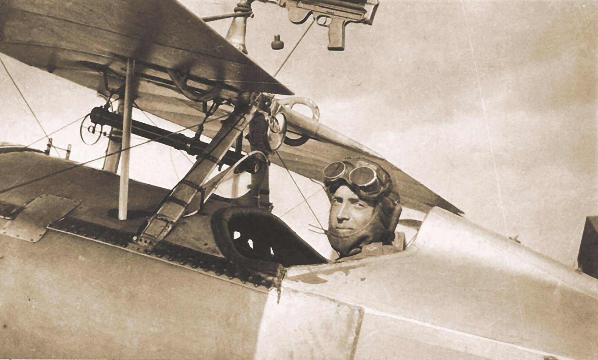 Derbyshire First World War Pilot
