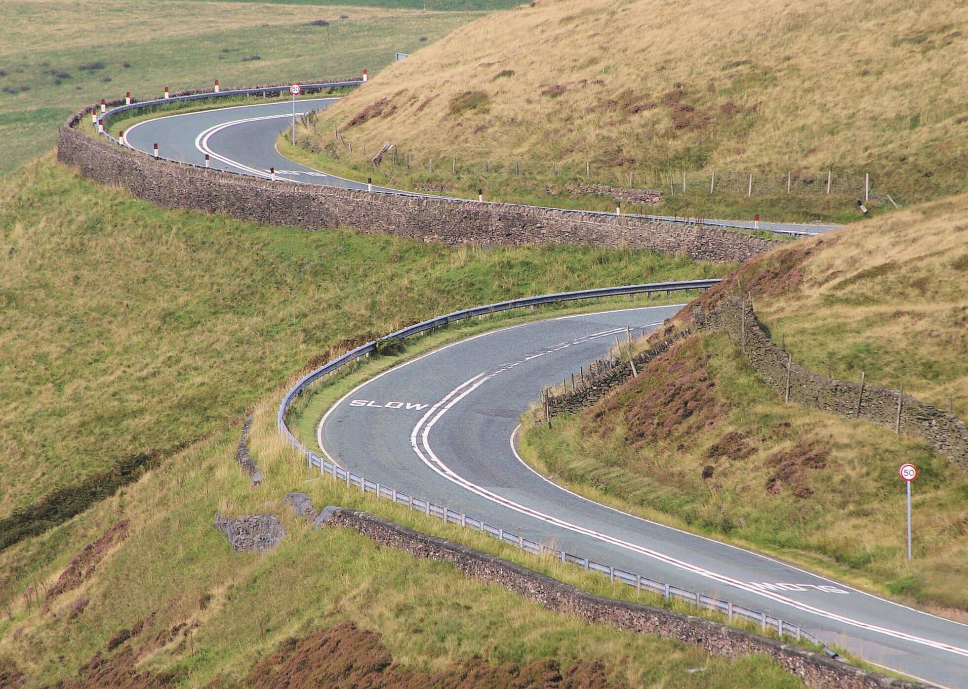 Dangerous Roads in Derbyshire