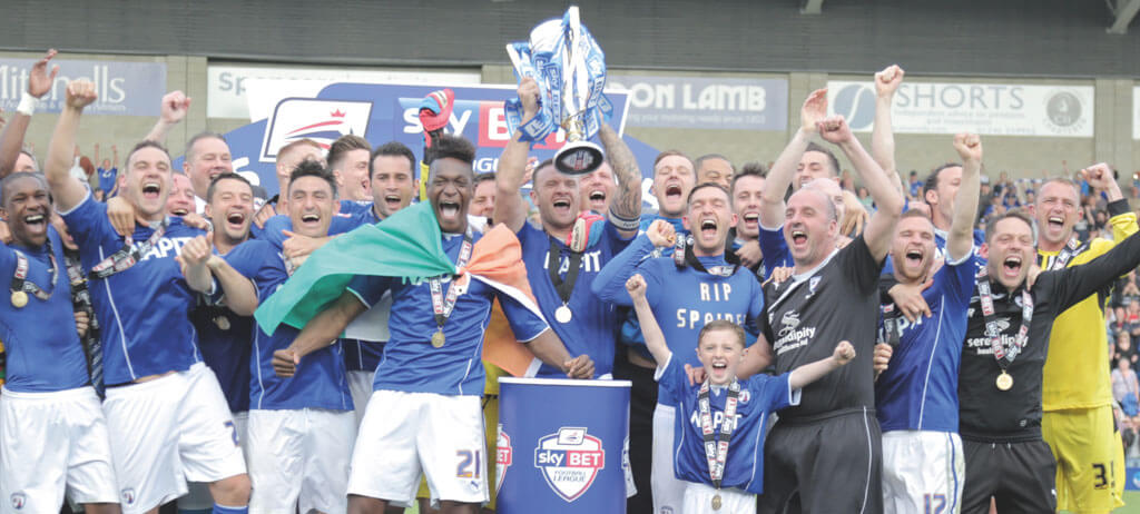 Chesterfield football club, derbyshire magazine, lifestyle magazine derbyshire,