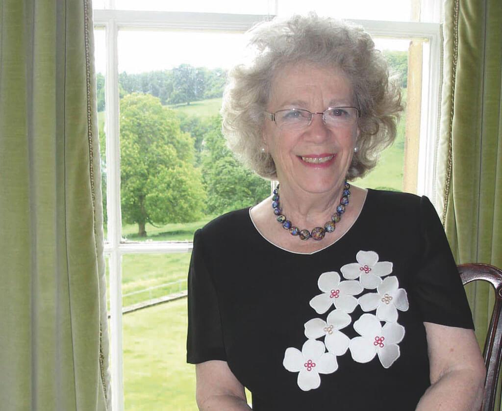 Ann at Hassop Hall