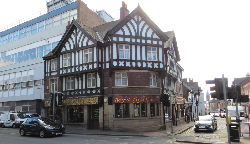 the corner house chesterfield