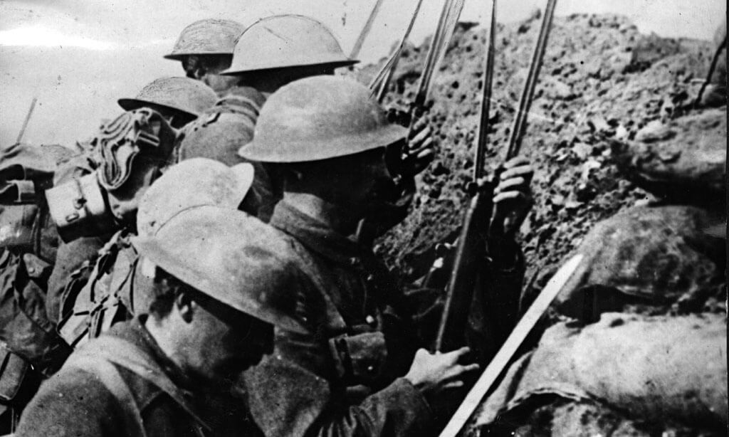 derbyshire troops