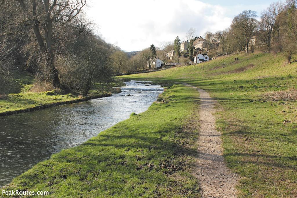 bradford edale, river bradford, walks derbyshire, out and about, magazines derbyshire, magazines chesterfield, magazines in chesterfield,