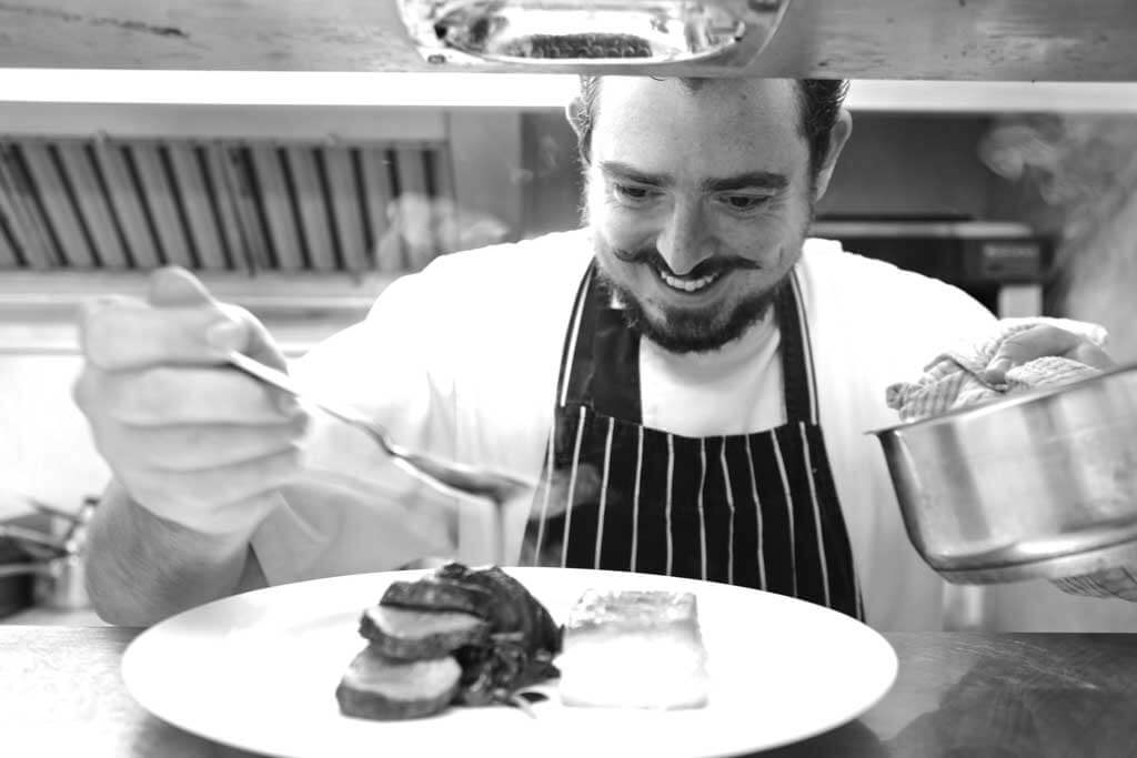 craig peters chef, dining derbyshire, recipes derbyshire, white horse woolley moor,