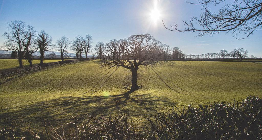 Cutthorpe, derbyshire village,