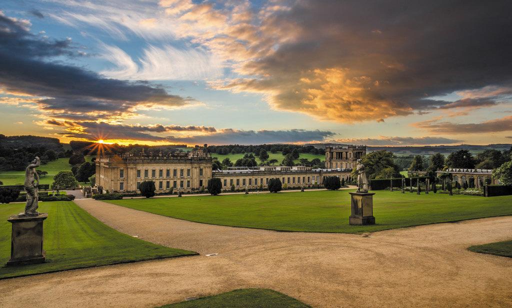 chatsworth, chatsworth gardens, gardens derbyshire,