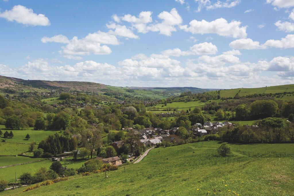 Stoney Middleton, derbyshire village, villages derbyshire,
