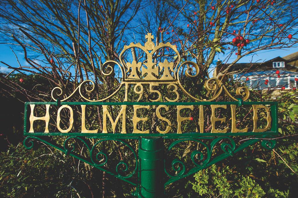 HOLMESFIELD, holmesfield sheffield, village,