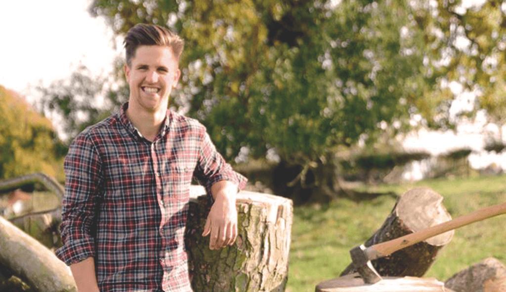 Sam Whitaker, Derbyshire Firewood Company,
