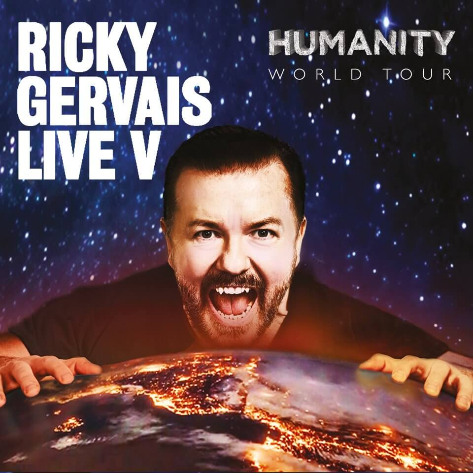 Ricky Gervais Sheffield City Hall