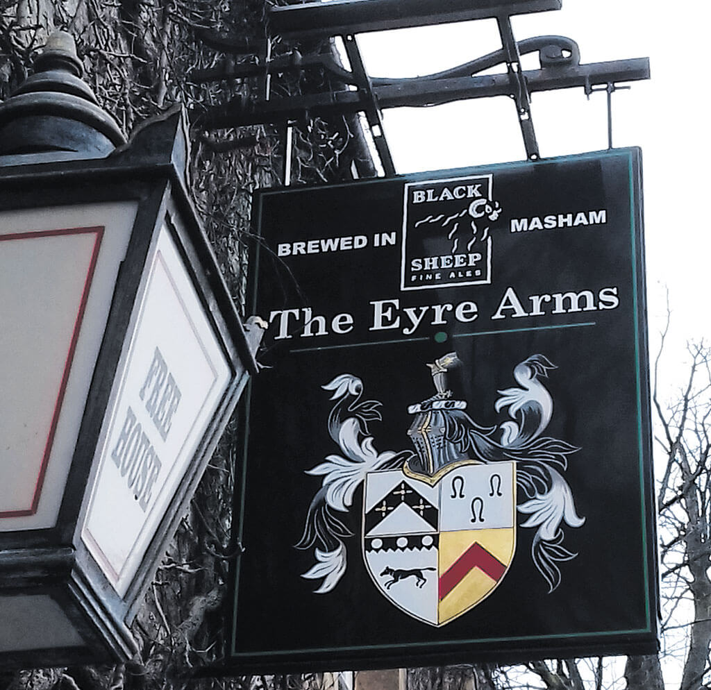 Eyre-Arms-Sign, coat of arms, coat of arms derbyhire,
