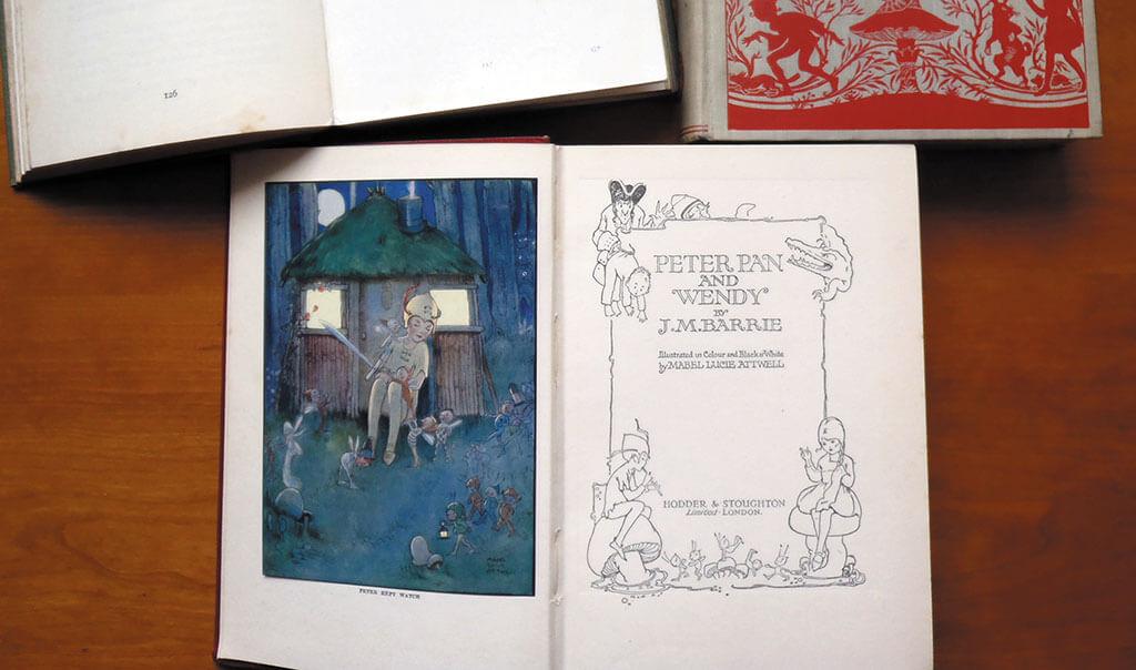 Three-books-Alice-Wonderland-Aesops-Fables-Peter-Pan