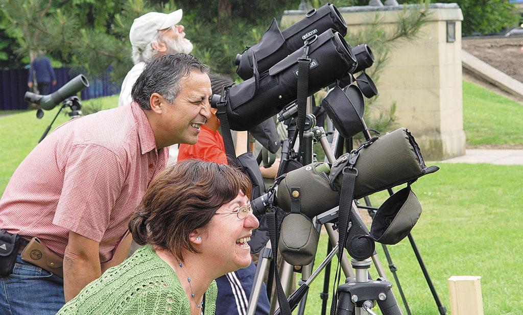 bird watching derbyshire