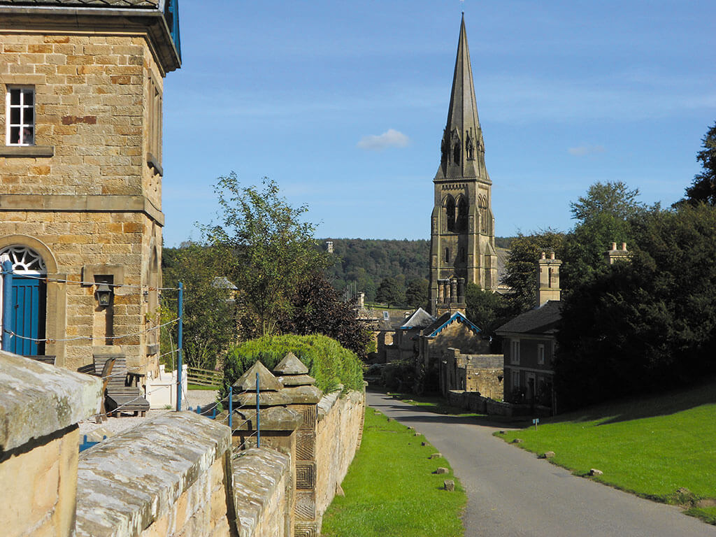 Walking-into-Edensor