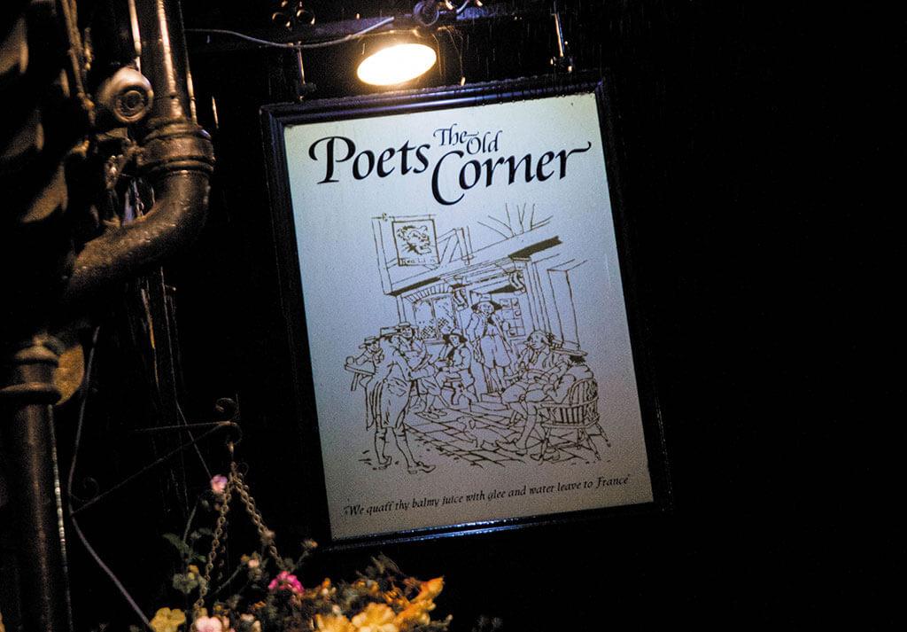 Old Poets Corner, Ashover