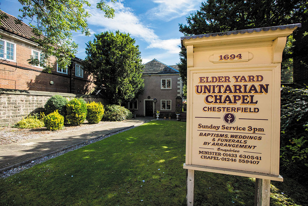 Elder Yard Chapel, Chesterfield