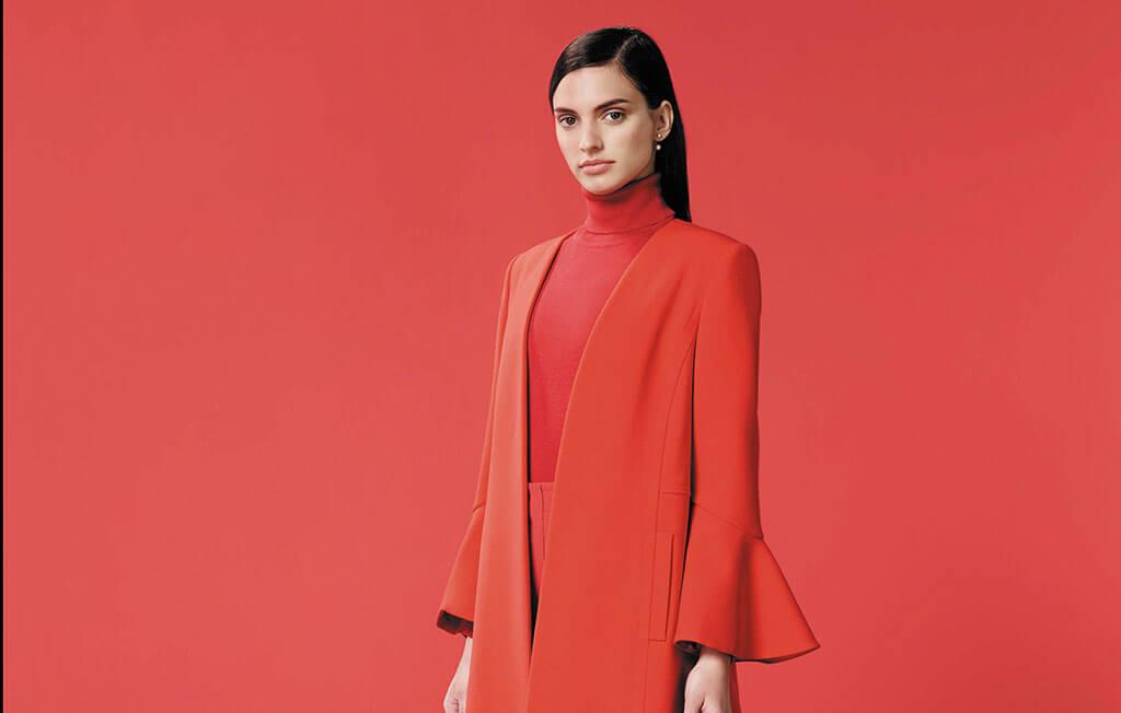 wallis red jacket