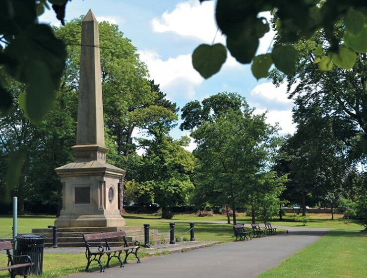war-memorial, Darley Dale park