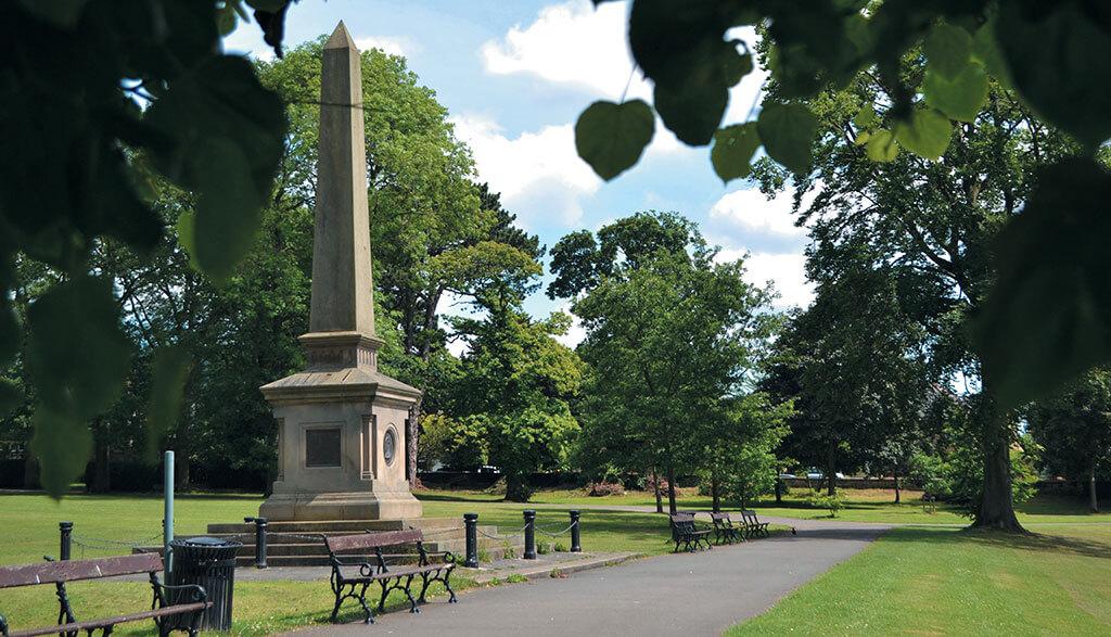 war-memorial, Darley Dale park