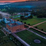 Chatsworth House Drone Shot by Phil Nicholls Photography