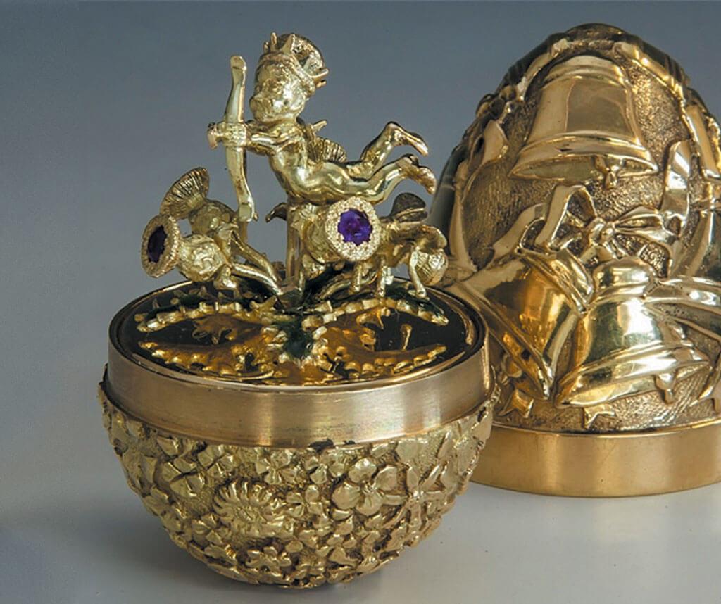 Fabergé egg, antique Fabergé